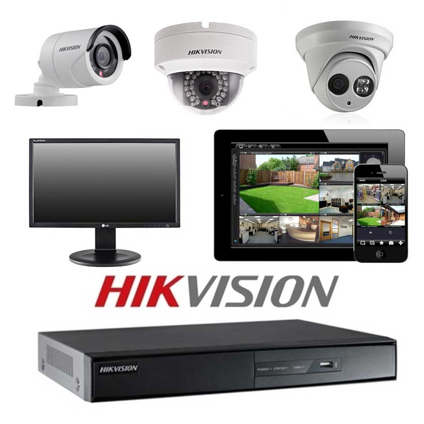 Hikvision 8 CCTV camera package - Vuetek